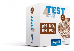 test aquili 4 in 1 Test 4 in 1 pH – KH - NO3 - PO4